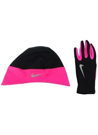 Nike Set || Eldiven-Bere Siyah